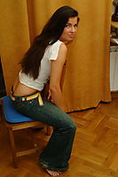 Hot Brunette Russian Teen Smiling And Nude - Picture 11