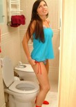 Judy Sitting On The Toilet - Picture 4