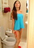 Judy Sitting On The Toilet - Picture 5