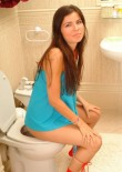 Judy Sitting On The Toilet - Picture 7