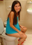 Judy Sitting On The Toilet - Picture 8